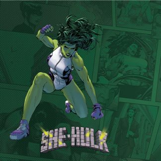 She-Hulk Game Mat | Marvel Champions