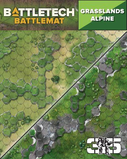 BattleTech Alpine / Grasslands Battlemat