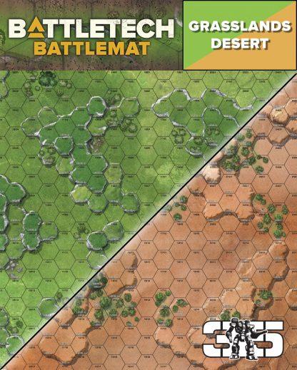 Battlemat Desert/Grasslands