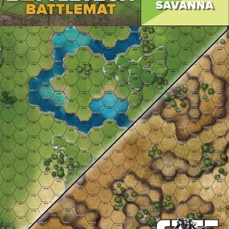 BattleTech Savanna / Grasslands Battlemat