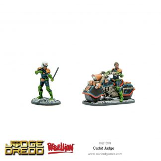 Cadet Judge | Judge Dredd Miniatures Game