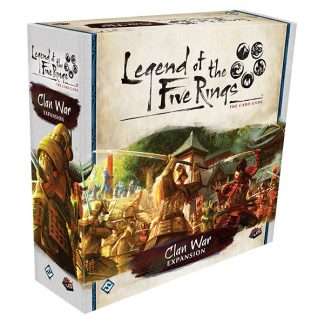 Clan War Expansion | Legend of the Five Rings Card Game