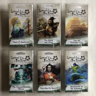 Imperial Cycle Dynasty Packs | Legend of the Five Rings Card Game