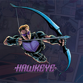Hawkeye Game Mat | Marvel Champions