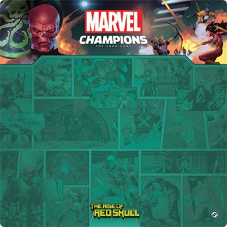 Red Skull 1-4 Player Game Mat | Marvel Champions