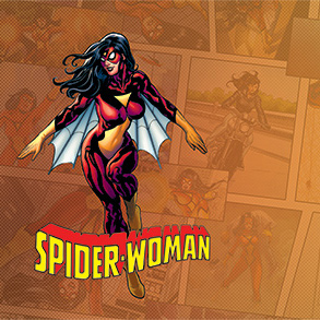 Spider-Woman Game Mat | Marvel Champions
