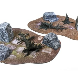 Broken Ground | Monster Scenery