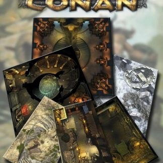 Forbidden Places & Pits of Horror Geomorphic Tile set | Conan