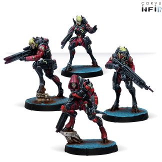 Shasvastii Nox Troops | Infinity