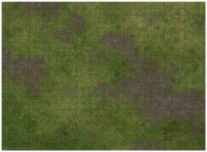 """22x30"""" Adventure Mat - Broken Grassland side"""