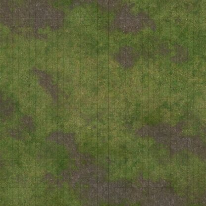 3x3 Adventure Mat - Broken Grassland side