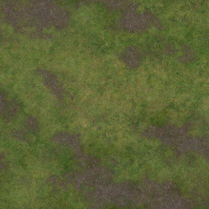 3x3 Game Mat - Broken Grassland side