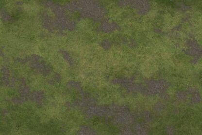 6x4 Game Mat - Broken Grassland side