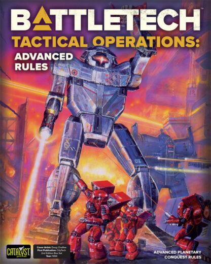 Tactical Operations: Advanced Rules   BattleTech