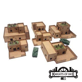 15mm Desert Building Bundle | Tabula Rasa Knights of Dice