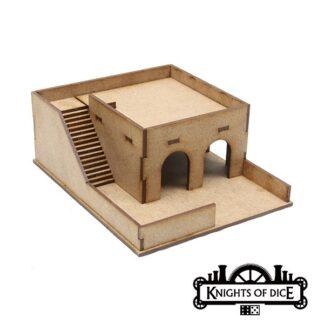 15mm Desert Storage Building | Knights of Dice Tabula Rasa