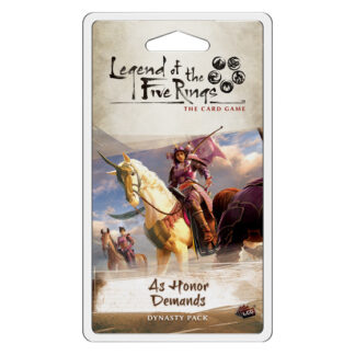 As Honour Demands | Legend of the Five Rings Card Game