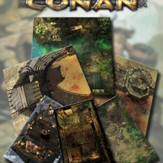 Fields of Glory & Thrilling Encounters Geomorphic Tile Set | Conan, Adventures in an Age Undreamed Of RPG