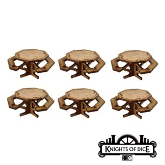 Foodcourt Tables | Easy District by Knights of Dice