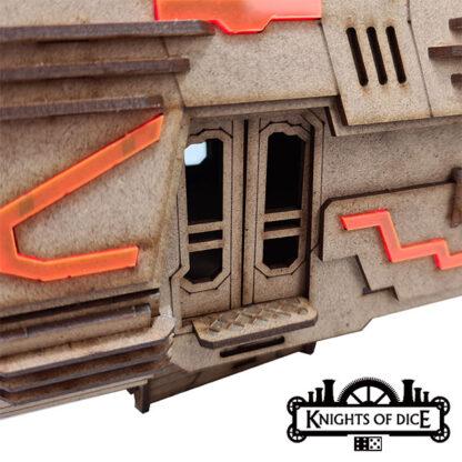 Hermes Class Monorail Car Doorway   Neo Sentry Easy District