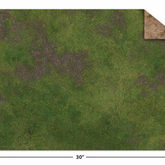 "22x30"" Game Mat Broken Grassland / Desert Scrubland | Monster Scenery"