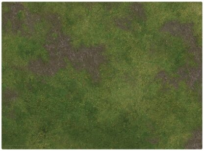 "22x30"" Game Mat Broken Grassland / Desert Scrubland - grassland side | Monster Scenery"