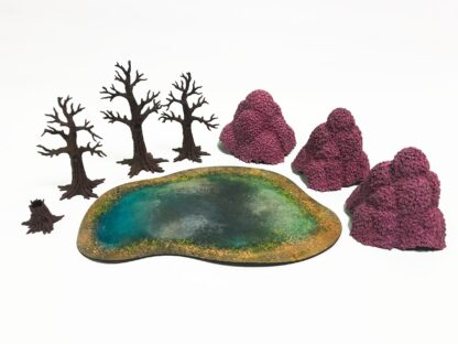 Blossoming Forest content | Monster Scenery