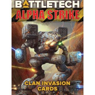 Alpha Strike Clan Invasion Cards | BattleTech