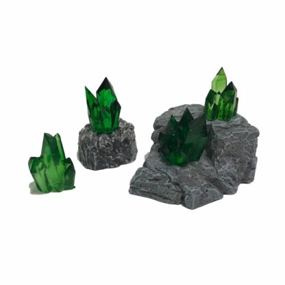 Crystal Nodes - Emerald Green   Monster Scenery
