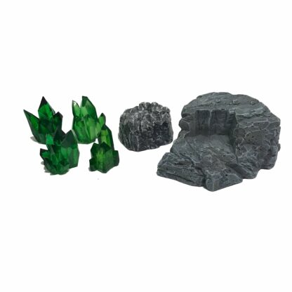 Crystal Nodes - Emerald Green contents   Monster Scenery