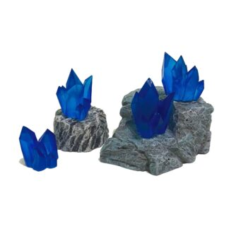 Crystal Nodes - Sapphire Blue | Monster Scenery