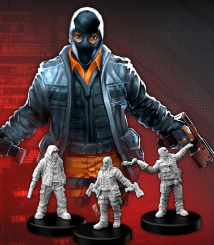 Cyberpunk Red Combat Zoners B (Punks)