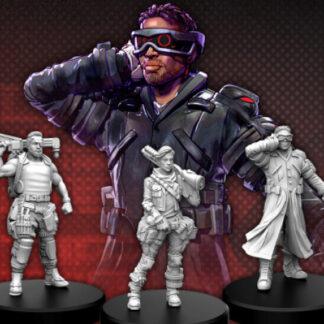 Cyberpunk Red Edgerunners B (Tech - Nomad - Fixer)