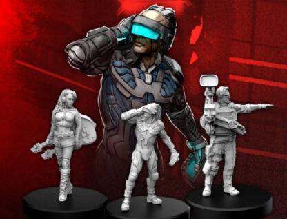 Cyberpunk Red Edgerunners C (Rocker - Netrunner - Media)