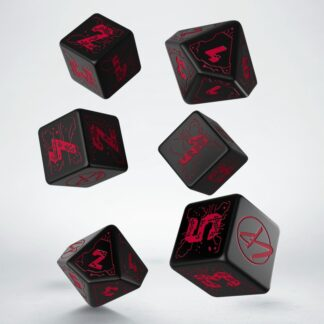 Cyberpunk Red Essential Dice Set | Q Workshop