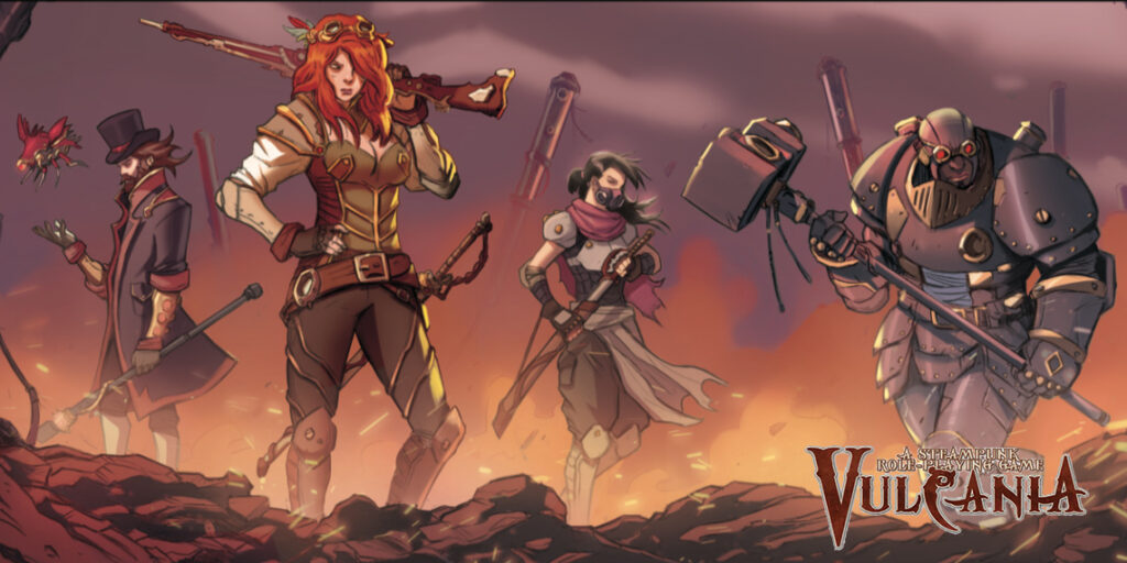 Vulcania RPG | SteamPunk Roleplaying Game