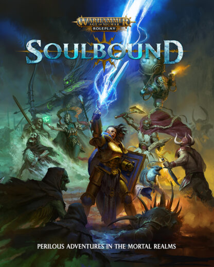 Soulbound Core Rulebook – Warhammer Age of Sigmar Roleplay