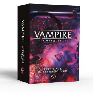 Discipline and Blood Magic Card Deck | Vampire: The Masquerade