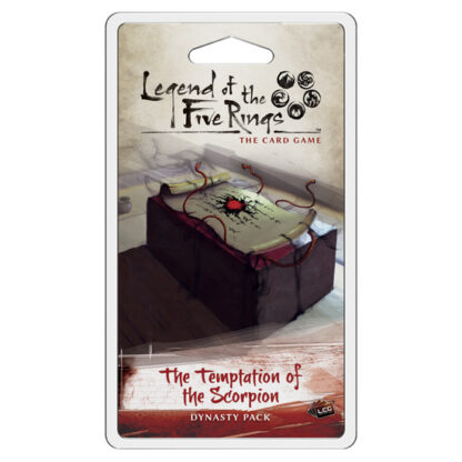 The Temptation of the Scorpion   Legend of the Five Rings Card Game