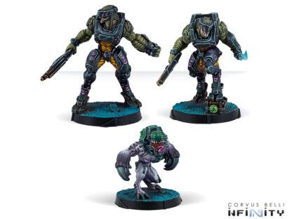 Jayth Cutthroats, Shasvastii Independent Assault Group   Infinity Combined Army