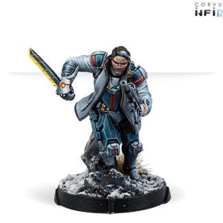 John Hawkwood, Merc Officer   Infinity Mercenary