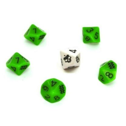 SLA Industries Dice Set (2nd Edition) | Nightfall Games