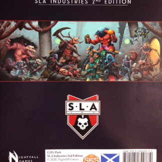 SLA Industries 2nd Edition GM Pack | Nightfall Games