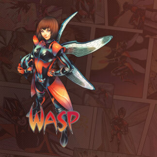 Wasp Game Mat | Marvel Champions