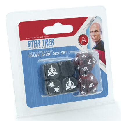 Klingon Dice Set   Star Trek Adventures