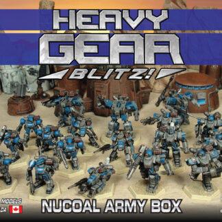 NuCoal Army Box - front | Heavy Gear Blitz!
