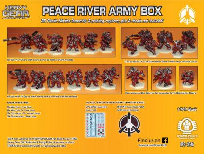 Peace River Army Box - back | Heavy Gear Blitz!