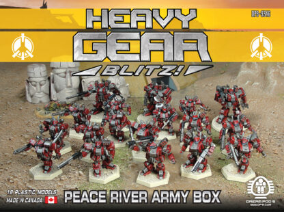 Peace River Army Box - front | Heavy Gear Blitz!