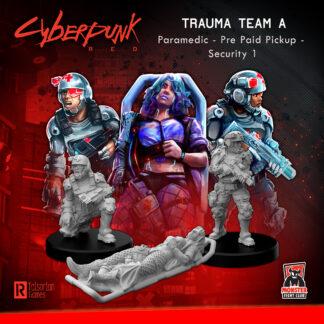 Trauma Team A (Paramedic – Pre Paid Pickup – Security 1) | Cyberpunk Red