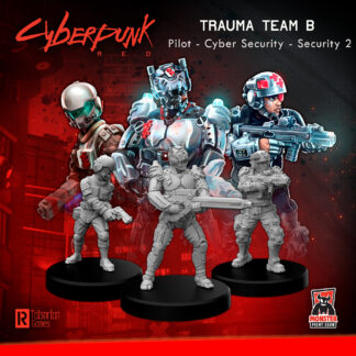 Trauma Team B (Pilot – Cyber Security – Security 2) | Cyberpunk Red